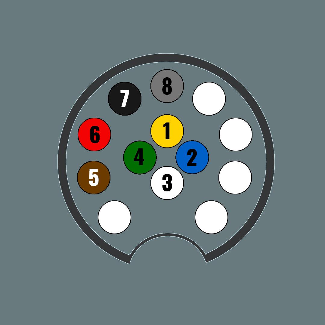 7 Pol Koblingsskjema