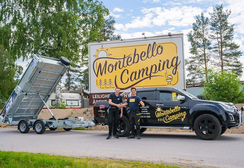 ifor williams tilhenger montebello camping tipphenger